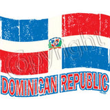 Dominican Republic Flag T Shirt