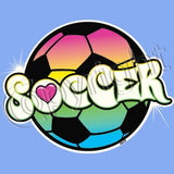 Soccer Ball - Neon T Shirt