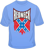 Redneck Confederate Distressed Flag T Shirt