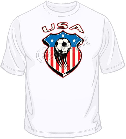 USA Soccer Shield T Shirt