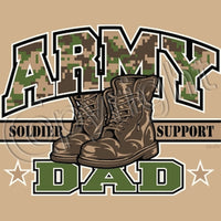 Army Dad T Shirt