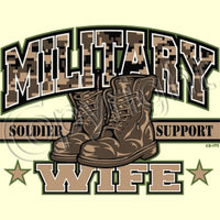 Military Wife T Shirt