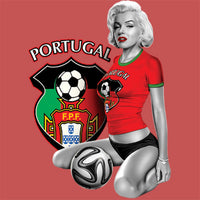 Portugal Soccer Marilyn T Shirt