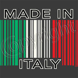 Made in Italy Barcode T Shirt