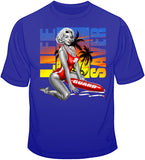 Marilyn Monroe - Beach Life Saver T Shirt