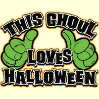 This Goul Loves Halloween - Neon T Shirt