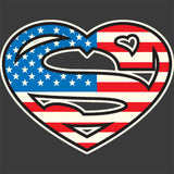 Super American Heart T Shirt