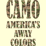 Camo Americas Away Colors T Shirt