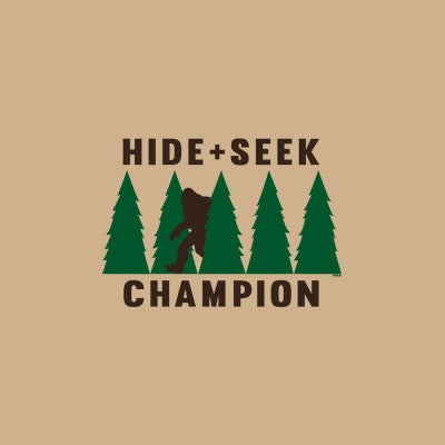 b0cca0db Hide & Seek Champion Bigfoot T Shirt | BoardwalkTees.com