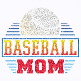 Baseball Mom - Glitter T Shirt
