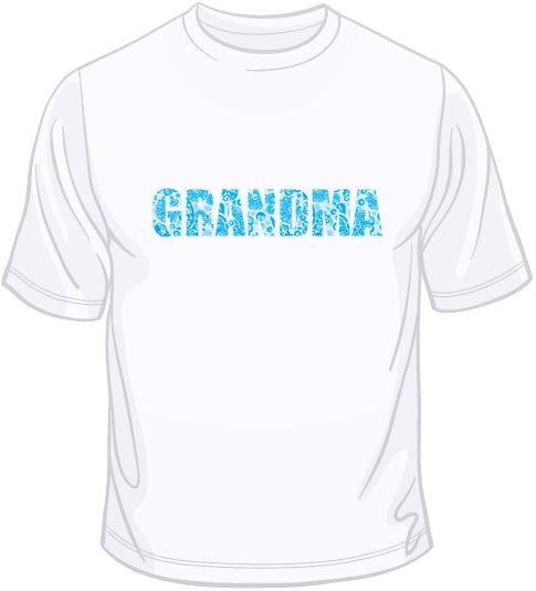 Grandma - Blue T Shirt
