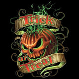 Flaming Pumpkin - Halloween  T Shirt