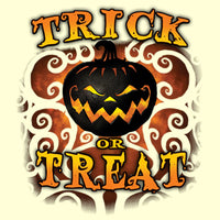 Trick or Treat Scary Pumpkin - Halloween T Shirt