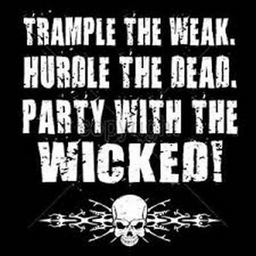Party With the Wicked T Shirt