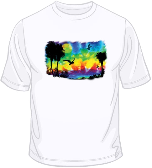 Brilliant Tie Dye T Shirt