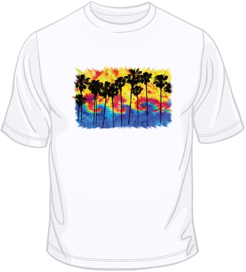 The Wave - Tie Dye T Shirt
