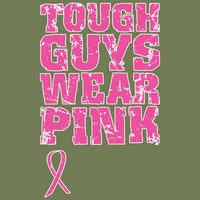 Tough Guys Wear Pink - Breast Cancer Awareness T Shirt