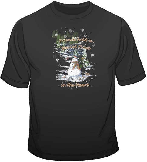 Snowman Winter T Shirt