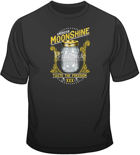 American Moonshine - Taste the Freedom T Shirt