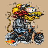 Yellow Monster Orange Cycle T Shirt