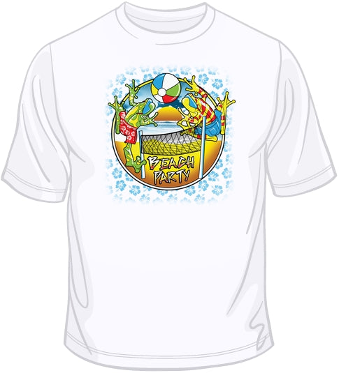 Beach Party - Solar Trans T Shirt