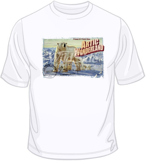 Artic Wonderland - Polar Bears T Shirt