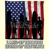 Land of the Free - Home of the Wave T Shirt