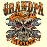 Grandpa - The Man Myth Legend T Shirt