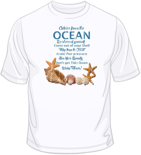 Advice From the Ocean T Shirt
