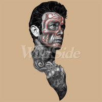 Day of the Dead Guy w/ Tattoos T Shirt