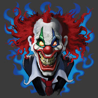 Crazy Clown T Shirt