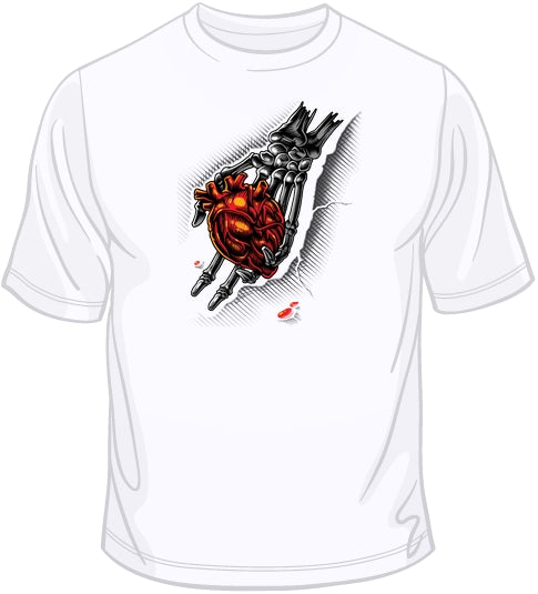 Heart In Hand T Shirt