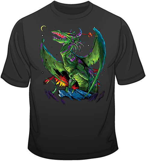 Winged Warrior (oversized print) T Shirt