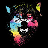 Colorful Wolves T Shirt