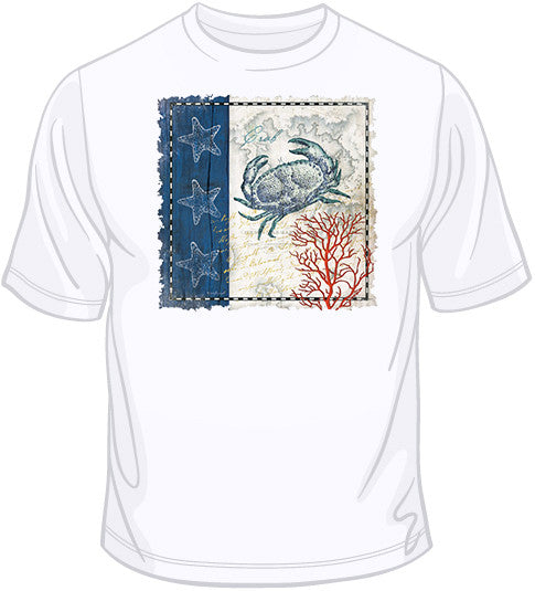Coastal Blue Crab  T Shirt
