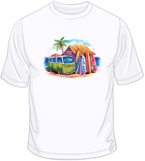 Greenie - Beach & Surf T Shirt