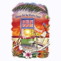 Window Seat - Beach View T Shirt