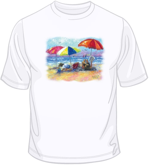 At the Beach T Shirt