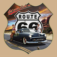 Get Your Licks On Route 66 T Shirt