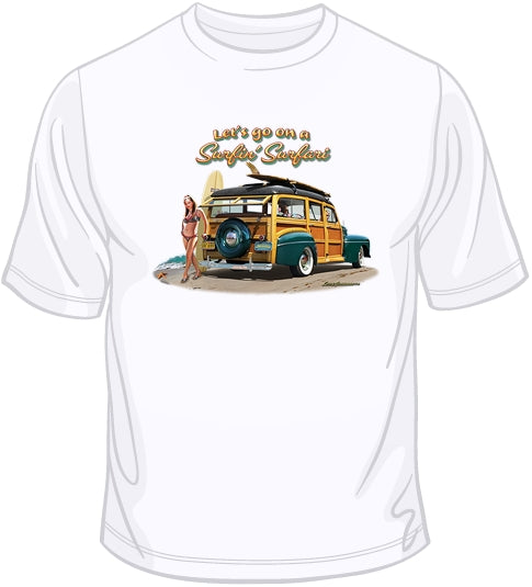 Surfin' Surfari  T Shirt