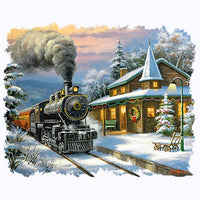 Christmas Train T Shirt