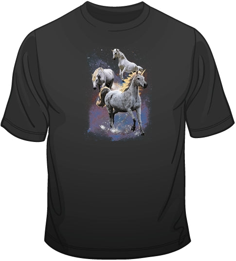 Space Unicorns T Shirt