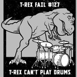 T-Rex Drum T Shirt