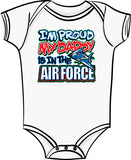 Proud of My Daddy - Air Force T Shirt