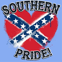 Southern Pride Heart T Shirt