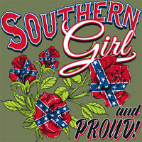 Southern Girl And Proud! T Shirt