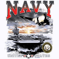 Navy United States T Shirt