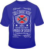 Pride Of Dixie Great Smoky Mountains T Shirt