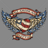 All American  Hottie T Shirt
