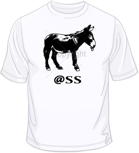 Ass (Donkey) T Shirt